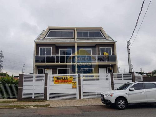 Sobrado Com 3 Dormitórios À Venda, 130 M² Por R$ 620.000,00 - Portão - Curitiba/pr - So0322