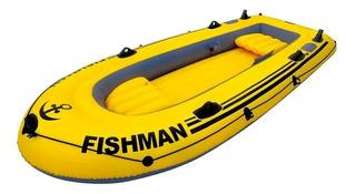 Bote/barco Fishman Inflável Mor 380kg - 02404