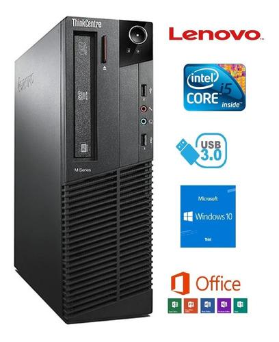 Imagem 1 de 3 de Cpu Lenovo M92p- Intel I5 3470 - 4gb Ram - Hd Sata 500gb