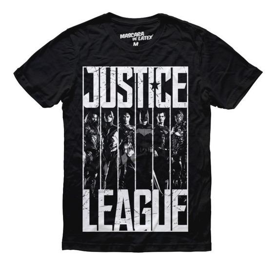 Playera Justice League Hombre