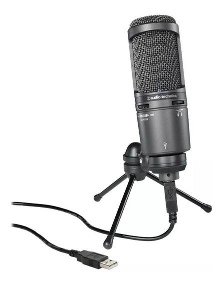 Microfone Condensador Audio-technica At2020 - Usb