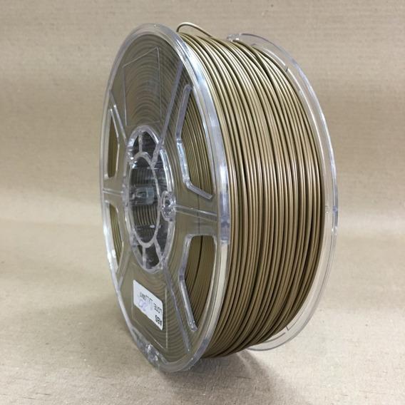 Filamento 3d Pla_1,75 Mm_1kg - Dourado _frete Grátis