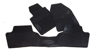 Tapete Ford Fiesta Plástico Caucho 3 Piezas Carro