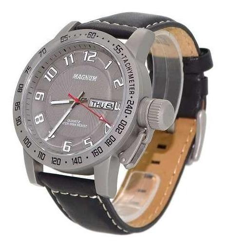 Relógio Masculino Magnum Military Ma33139w Original
