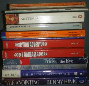 Kit De 13 Livros De Língua Estrangeira