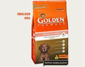 Ração Golden Cães Filhotes Frango E Arroz Mini Bits 10,1 Kg