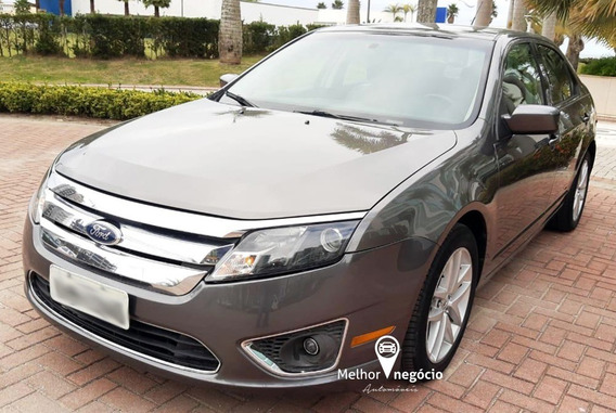 Ford Fusion Sel 2.5 16v 173cv Aut. 2010 Cinza