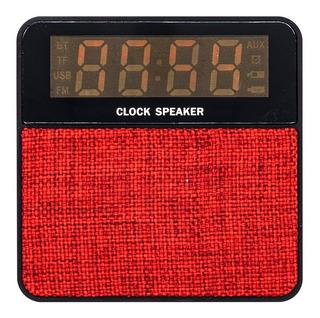Parlante Bluetooth,usb Radio Reloj Alarma Despertador T1