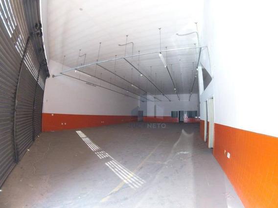 Salão Para Alugar, 400 M² Por R$ 10.000/mês - Vila Bocaina - Mauá/sp - Sl0044