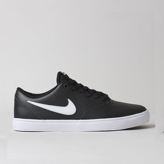 Tênis Nike Sb Check Solar - Black/white