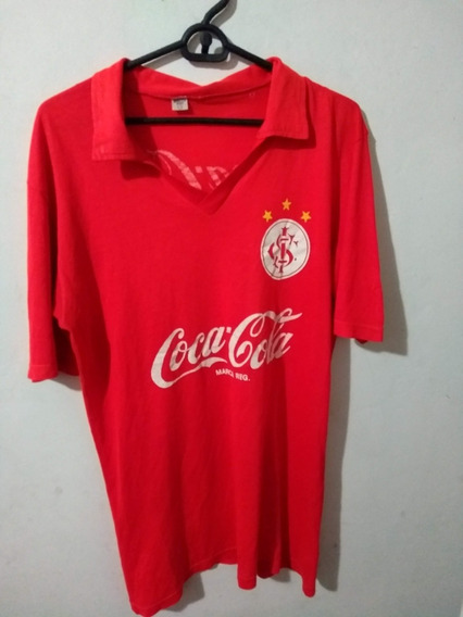 Camiseta De Internacional De Brasil Algodon E Hilo Brasileño