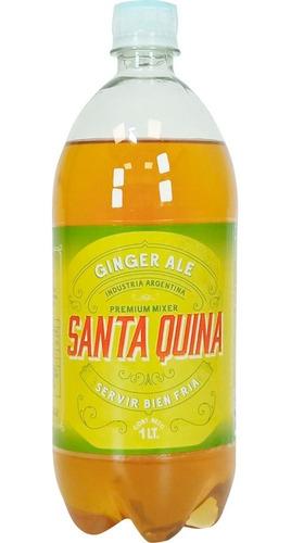 Gaseosa Santa Quina Ginger Ale 1 Litro 01almacen