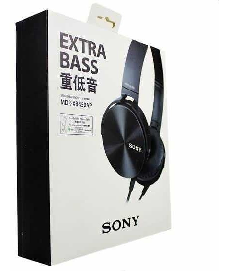 Fone De Ouvido Extra Bass Mdr-xb450ap