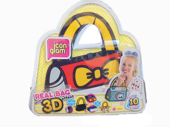 Icon Glam Personaliza Tu Cartera En 3d Real Bag