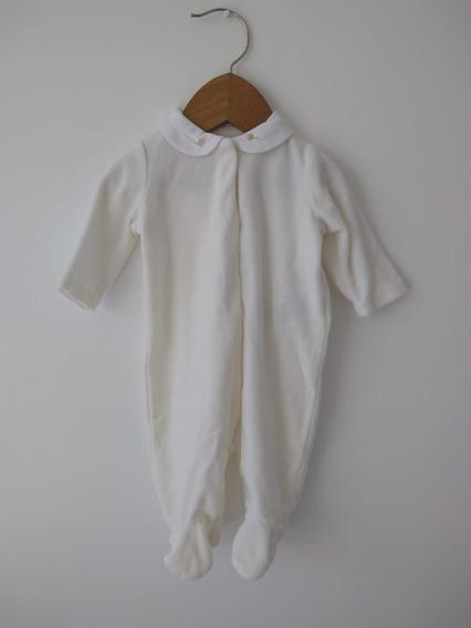 Enterito Osito Para Bebé Polo Ralph Lauren Original Cremita