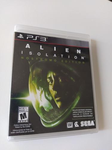 Alien Isolation Ps3 Físico Usado