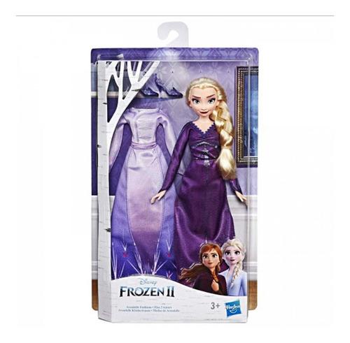 Muñeca Elsa Modas De Arendelle Frozen 2 Original Hasbro