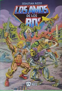 Los Amos De Los 80 He-man Skeletor Motu Libro Blink Trashh