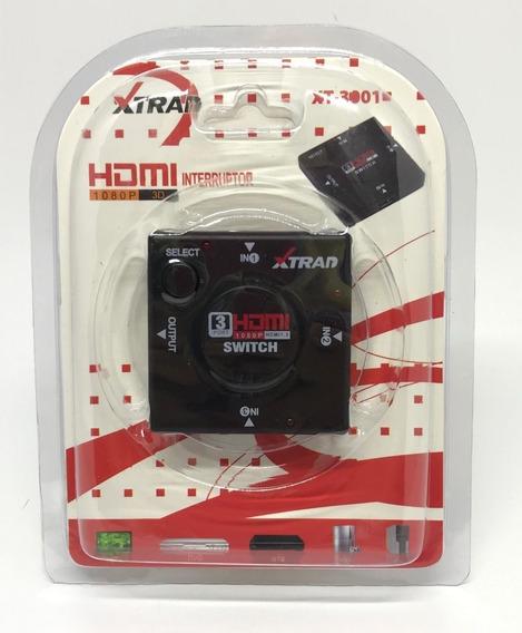 Switch Hdmi Xt-3001 Xtrad