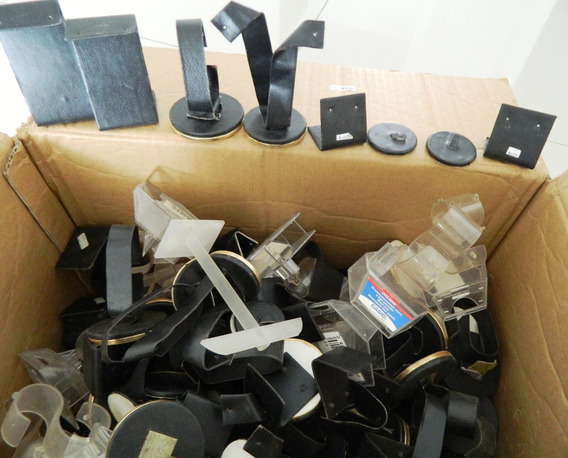 Remate Lote De 160 Exhibidores De Joyería Usados-porta Reloj