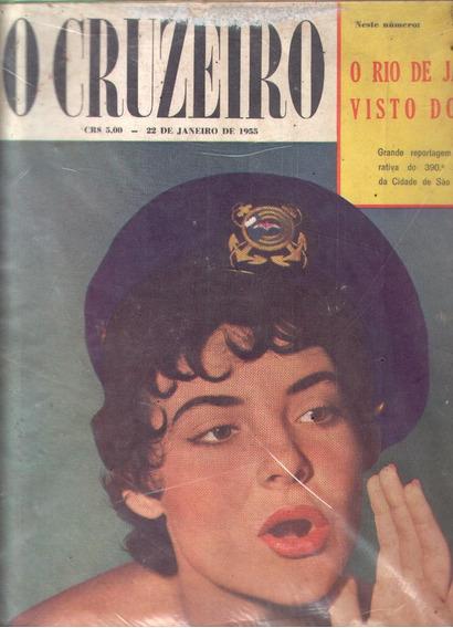 O Cruzeiro 1955.gavea Golf.rio De Janeiro.alim Pedro.moda.
