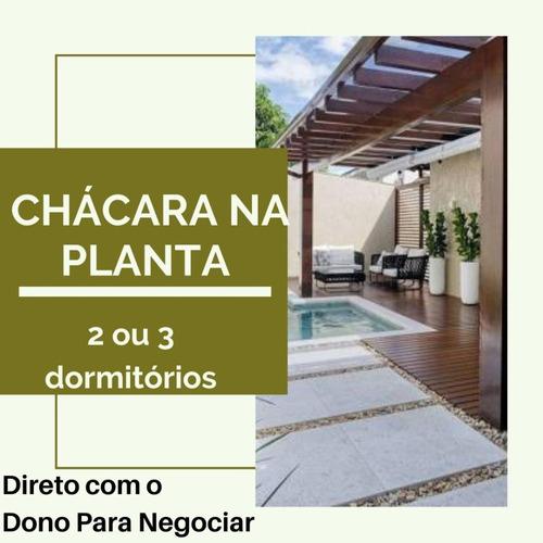 Imagem 1 de 5 de Projeto Incrível E Com Baixo Custo!!! Chácaras Na Planta!!!!
