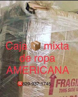 Caja Mixta De Ropa Americana