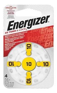 4 Pilas Para Audifonos Az 10 Energizer Pr70 1.45v Cinc Aire