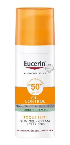 Imagen 1 de 8 de Protector Solar Facial Seco Oil Control Fps 50 Eucerin 50ml