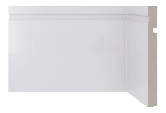 Zocalo Sustentable Blanco 15cm Alto Mejor Que Madera Y Pvc