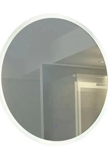 Espejo Redondo Con Luz Led De 50cm Para Baño
