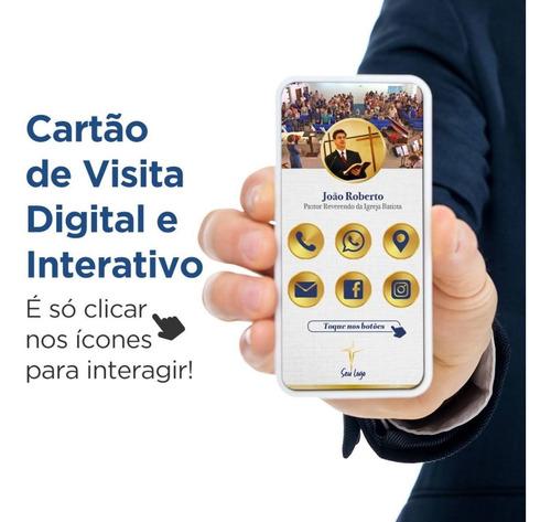 Imagem 1 de 8 de Cartão De Visita Digital E Interativo Atual