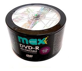 100 Dvd -r Maxiprint 16x Logo Original (nao Grava Jogos)