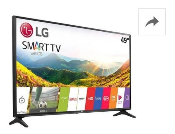 Smart Tv Lg 49 Polegadas (na Caixa)