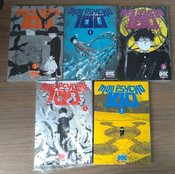 Mob Psycho 100 Vol. 1 Ao 5 Ed. Panini Autor De One-punch Man