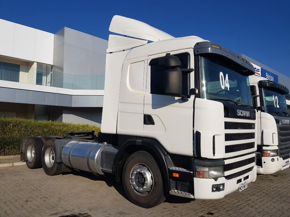 Scania R124 400 6x2 Com Defletor Único Dono