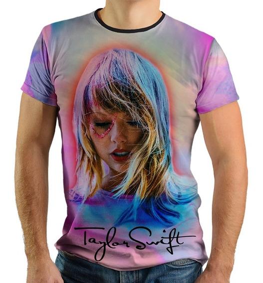 Camiseta Taylor Swift Lover Tour Brasil Eu Vou De Excursão