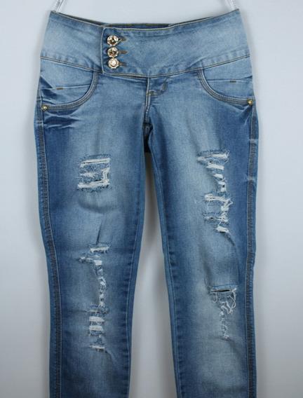 Calça Jeans Biotipo Tam. 36 Delavê