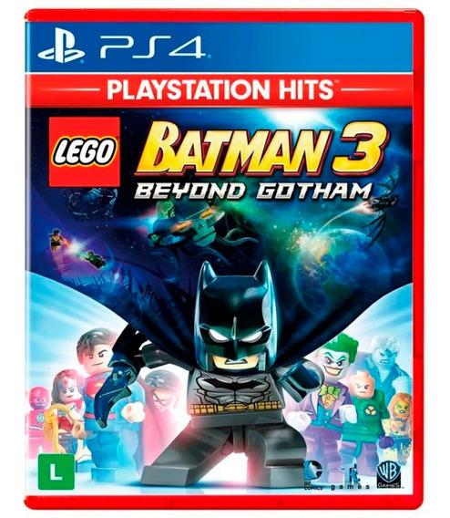 Jogo Lego Batman 3 Beyond Gotham - Ps4 Mídia Física