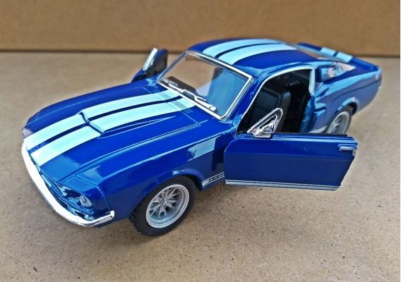 Miniatura Shelby Gt 500 1967 - Escala 1/32