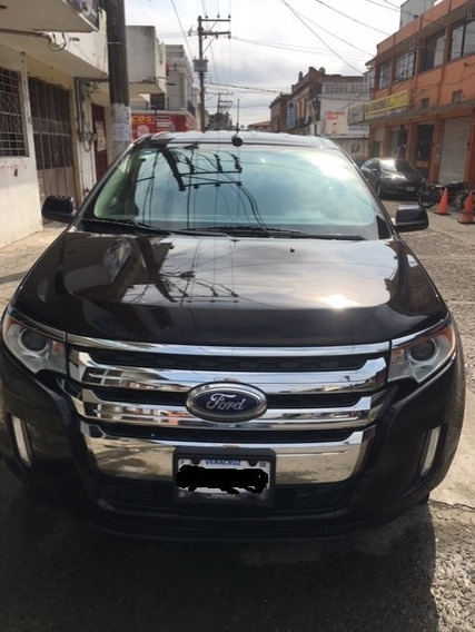 Ford Edge Sel 5 Puertas, A/c, T/a, Llantas Con Media Vida