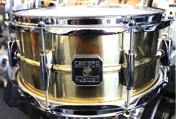 Caixa Gretsch Legend 13x6 Brass