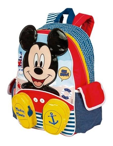 Mickey Disney Mochila Infantil Escolar Menino Sestini 65029