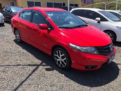 Honda City Sport 1.5 Vermelho 2014