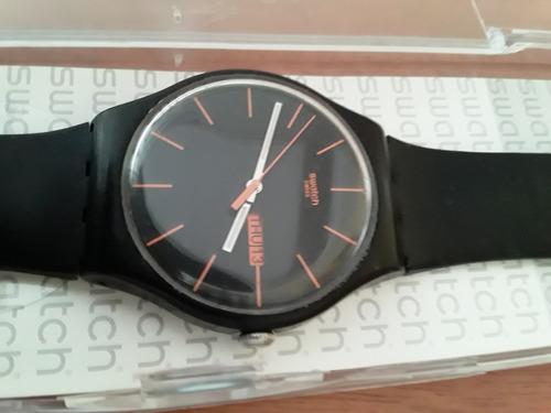 Relógio Swatch Dark Rebel Suob704
