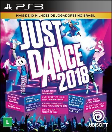Jogo Just Dance 2018 Ps3 Playstation 3 Mídia Física Nfe