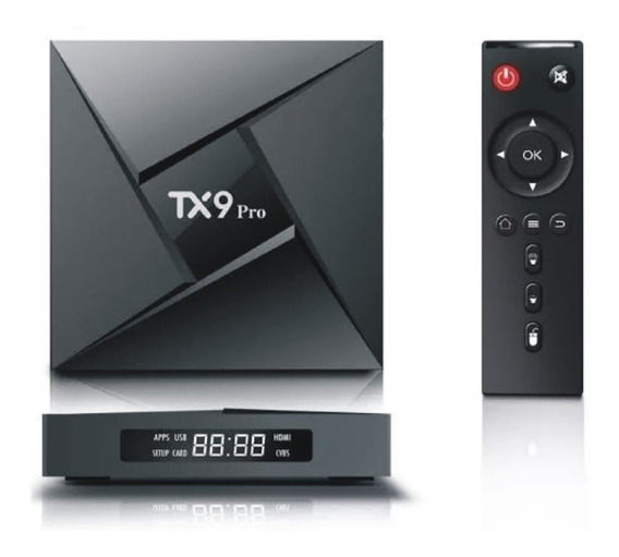Transforma Tv Em Smat Tx9 Pro 3gb 8 Core Bluetooth