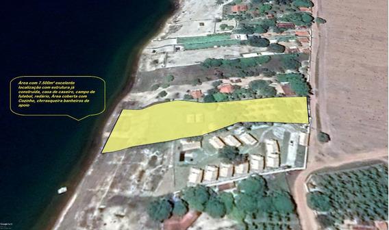 Belíssima Área Com 7.500m² Ás Margens Da Lagoa Do Bonfim Rn