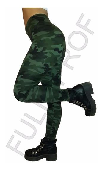 Calza Legging Chupin Camuflada Militar + Envio Gratis !