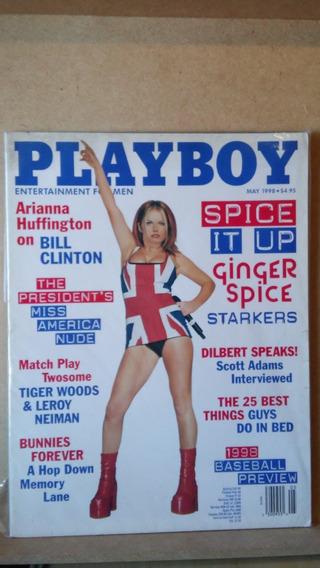 Revista Playboy Geri Halliwell Spice Girls